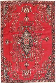 Sarough Matto 166X248 Itämainen Käsinsolmittu Punainen/Ruoste (Villa, Persia/Iran)