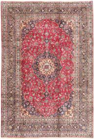 Kashmar Covor 198X293 Orientale Lucrat Manual Roșu-Închis/Bej (Lână, Persia/Iran)