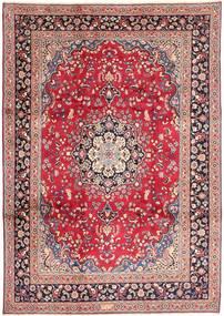 Mashad Alfombra 242X348 Oriental Hecha A Mano Rosa Claro/Violeta (Lana, Persia/Irán)