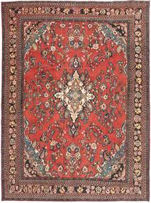 Hamadan Shahrbaf Patina Vloerkleed 266X360 Echt Oosters Handgeknoopt Lichtbruin/Roestkleur Groot (Wol, Perzië/Iran)
