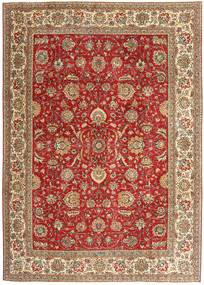 Tabriz Patina Rug 239X335 Authentic  Oriental Handknotted Brown/Dark Red/Light Brown (Wool, Persia/Iran)