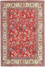 Tabriz Patina Matto 198X293 Itämainen Käsinsolmittu Vaaleanruskea/Tummanbeige (Villa, Persia/Iran)