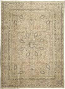 カラード ヴィンテージ 絨毯 288X390 モダン 手織り 薄茶色/オリーブ色 大きな (ウール, ペルシャ/イラン)