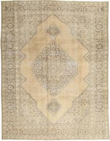 Colored Vintage Rug 256X330 Authentic  Modern Handknotted Light Brown/Dark Beige Large (Wool, Persia/Iran)