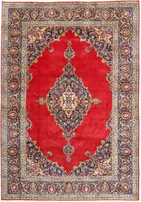 Keshan Rug 240X350 Authentic  Oriental Handknotted Light Brown/Light Grey (Wool, Persia/Iran)