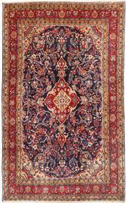 Hamadan Shahrbaf Matto 203X325 Itämainen Käsinsolmittu Ruskea/Tummanruskea (Villa, Persia/Iran)