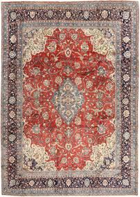 Sarough Matta 270X372 Äkta Orientalisk Handknuten Ljusgrå/Ljusbrun Stor (Ull, Persien/Iran)