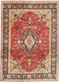 Tabriz Matto 246X338 Itämainen Käsinsolmittu Tummanpunainen/Ruskea (Villa, Persia/Iran)