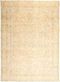 Colored Vintage Rug 280X384 Authentic  Modern Handknotted Beige/Dark Beige/Light Pink Large (Wool, Persia/Iran)