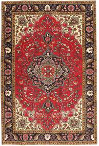 Tabriz Patina Rug 195X291 Authentic  Oriental Handknotted Light Brown/Dark Red (Wool, Persia/Iran)