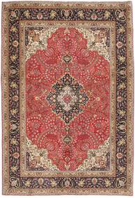 Tabriz Patina Matto 203X300 Itämainen Käsinsolmittu Vaaleanruskea/Ruskea (Villa, Persia/Iran)