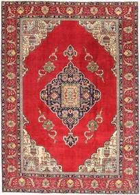 Tabriz Patina Rug 236X324 Authentic  Oriental Handknotted Crimson Red/Brown (Wool, Persia/Iran)