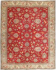 Tabriz Patina Tapis 295X365 D'orient Fait Main Rouille/Rouge/Marron Grand (Laine, Perse/Iran)
