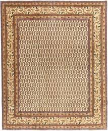 Tabriz Patina Matto 248X296 Itämainen Käsinsolmittu Vaaleanruskea/Ruskea (Villa, Persia/Iran)