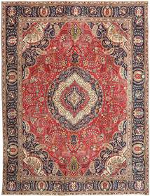 Tabriz Patina Rug 288X375 Authentic  Oriental Handknotted Light Brown/Brown Large (Wool, Persia/Iran)