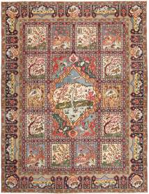 Kashmar Patina Rug 293X377 Authentic  Oriental Handknotted Light Brown/Brown Large (Wool, Persia/Iran)