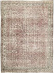Colored Vintage Rug 277X374 Authentic  Modern Handknotted Light Grey Large (Wool, Persia/Iran)