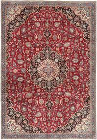 Najafabad Patina Alfombra 220X322 Oriental Hecha A Mano Marrón/Gris Claro (Lana, Persia/Irán)