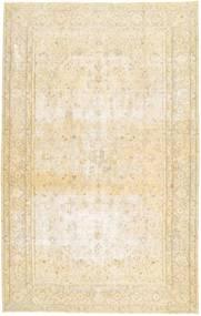 Colored Vintage Teppe 205X325 Ekte Moderne Håndknyttet Beige/Gul (Ull, Persia/Iran)