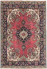 タブリーズ パティナ 絨毯 142X204 オリエンタル 手織り 深紅色の/濃い茶色 (ウール, ペルシャ/イラン)