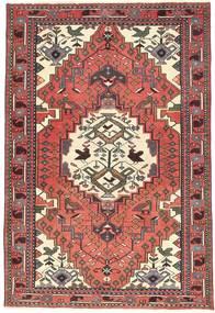 Ardebil Patina Teppe 97X145 Ekte Orientalsk Håndknyttet Mørk Beige/Mørk Brun (Ull, Persia/Iran)