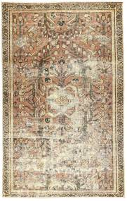 Colored Vintage Rug 117X186 Authentic  Modern Handknotted Light Brown/Beige (Wool, Persia/Iran)