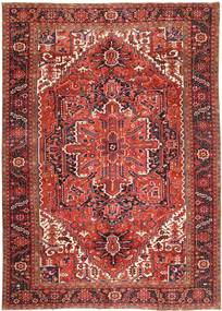 Heriz Rug 336X464 Authentic  Oriental Handknotted Dark Red/Brown Large (Wool, Persia/Iran)