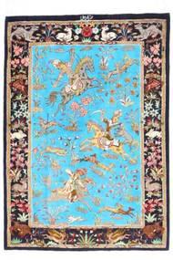 Ghom zijde tapijt AXVZZZL133