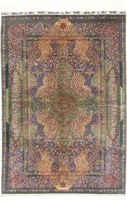 Qum silk Sighned : Zabihi carpet AXVZZZL128