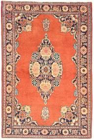 Keshan Tæppe 66X100 Ægte Orientalsk Håndknyttet Orange/Lysebrun (Uld, Persien/Iran)