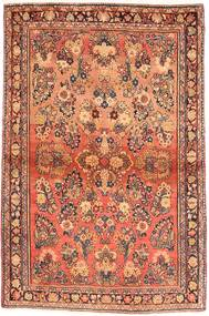Sarouk American Rug 99X156 Authentic  Oriental Handknotted Brown/Orange (Wool, India)
