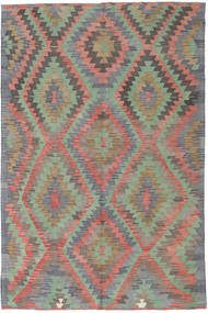 Kilim Turkish Rug 180X275 Authentic  Oriental Handwoven Dark Grey/Light Grey (Wool, Turkey)