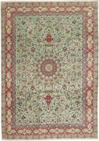 Tabriz#70 Raj 絹の縦糸 絨毯 AXVZZZL775