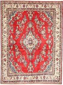 Hamadan#Shahrbaf Matta 213X288 Äkta Orientalisk Handknuten Mörkbeige/Roströd (Ull, Persien/Iran)