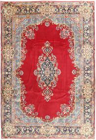 Kerman Matta 254X360 Äkta Orientalisk Handknuten Röd/Beige Stor (Ull, Persien/Iran)