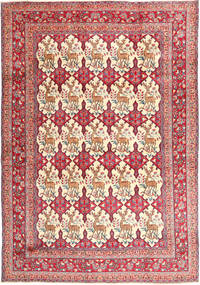 Kashmar Rug 277X398 Authentic  Oriental Handknotted Purple/Light Brown Large (Wool, Persia/Iran)