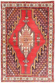 Hamadan Covor 127X194 Orientale Lucrat Manual Maro/Ruginiu (Lână, Persia/Iran)