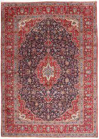 Keshan Tapijt 295X395 Echt Oosters Handgeknoopt Donkerrood/Donkerpaars Groot (Wol, Perzië/Iran)
