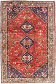 Qashqai Rug 208X313 Authentic  Oriental Handknotted Dark Red/Rust Red (Wool, Persia/Iran)