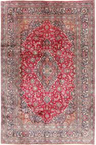 Kashmar Teppe 192X290 Ekte Orientalsk Håndknyttet Mørk Rød/Lyserosa (Ull, Persia/Iran)