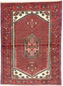 Zanjan Matto 96X134 Itämainen Käsinsolmittu Ruskea/Vaaleanruskea (Villa, Persia/Iran)