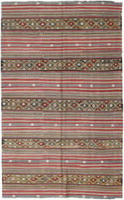 Kilim Turkish Rug 172X278 Authentic  Oriental Handwoven Light Brown/Light Grey (Wool, Turkey)