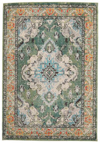 Leia - Green Rug 160X230 Modern ( Turkey)