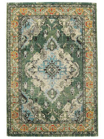Leia - Green Rug 120X170 Modern Dark Grey/Beige ( Turkey)