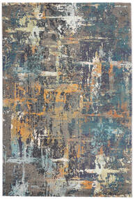 Castor - Multi/Teal Tone Rug 200X300 Modern Dark Grey/Light Grey ( Turkey)