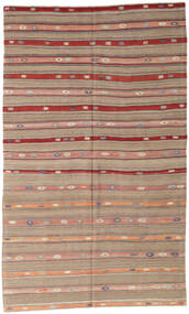 Kilim Turkish Rug 162X274 Authentic  Oriental Handwoven Light Brown (Wool, Turkey)