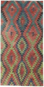 Килим Турецкий Ковер 172X342 Сотканный Вручную Коричневый/Темно-Серый (Шерсть, Турция)