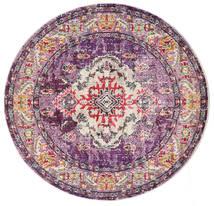 Leia - Violet Deschis Covor Ø 150 Modern Rotund Roz Deschis/Roz ( Turcia)