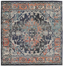 Elnath Rug 250X250 Modern Square Light Grey/Dark Grey Large ( Turkey)