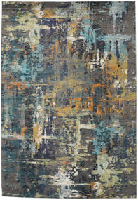 Castor - Multi/Teal Tone Rug 240X340 Modern Dark Grey/Light Grey ( Turkey)